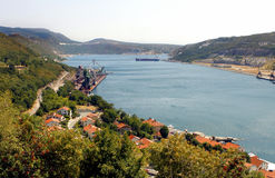 Istria coast - Croatia. The istria coast in north Croatia in south Europe stock photos