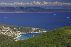 Istria-Halbinsel Stockbild