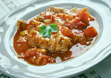 Istrian Chicken Goulash Royalty Free Stock Photography