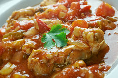 Istrian Chicken Goulash Royalty Free Stock Photos