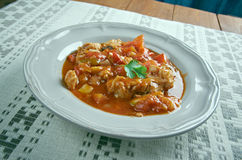 Istrian Chicken Goulash Royalty Free Stock Image