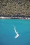 Istrian wybrzeże Blisko Plomin Fotografia Stock