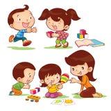 Istruisca i bambini illustrazione vettoriale