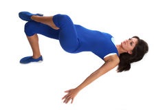 Istruttore di forma fisica Immagine Stock