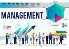 Istruttore di preparazione autoritario Concept della gestione illustrazione di stock
