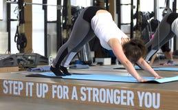 Istruttore di yoga Fotografia Stock Libera da Diritti