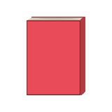 Istruzione della biblioteca del libro Fotografie Stock Libere da Diritti