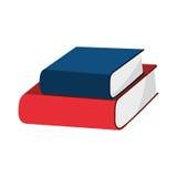 Istruzione della biblioteca del libro Immagine Stock