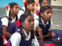 Istruzione delle ragazze Immagine Stock