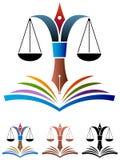 Istruzione di legge Fotografie Stock Libere da Diritti