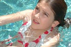 Istruzione di nuotata Immagine Stock