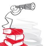 Istruzione e Carreer illustrazione di stock