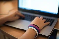 Istruzione e concetto di tecnologia Immagine Stock