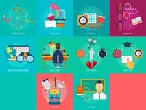 Istruzione e scienza illustrazione vettoriale