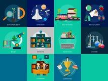 Istruzione e scienza royalty illustrazione gratis