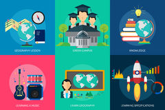 Istruzione e scienza Immagini Stock