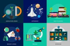 Istruzione e scienza illustrazione di stock