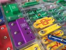 Istruzione elettrica Fotografia Stock Libera da Diritti