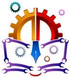Istruzione industriale illustrazione vettoriale