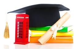 Istruzione nel concetto della Gran Bretagna Immagine Stock