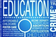 Istruzione politica Immagine Stock Libera da Diritti