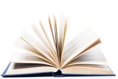 Istruzione, scienza. Vecchio libro su fondo bianco Fotografia Stock Libera da Diritti