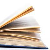 Istruzione, scienza. Vecchio libro su fondo bianco Immagini Stock