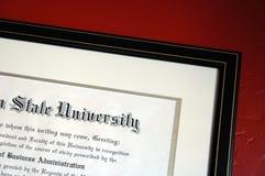 Istruzione superiore Fotografia Stock