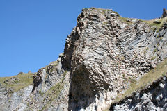 Istruzione vulcanica - rocce Immagini Stock Libere da Diritti