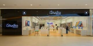 Istudio-Shop an der zentralen Botschaft Thailand Lizenzfreie Stockfotos