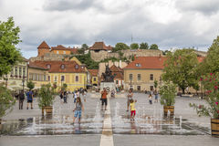Istvan Dobo Square royalty free stock photography