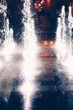 Istvan Dobo Square fountain Royalty Free Stock Image