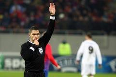 Medel för FC Steaua Bucharest FC Gaz Metan Arkivbilder