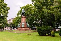 Istvan Szechenyi staty fotografering för bildbyråer