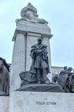 Istvan Tisza Statue - Budapest, Hungary Royalty Free Stock Photography
