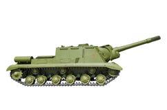ISU-152 -是苏联装甲的自走枪 免版税库存照片