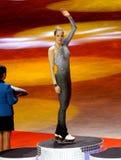 冠军形象isu滑冰的世界 免版税库存照片