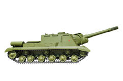 ISU-152 - era uma arma automotora blindada soviética Fotos de Stock Royalty Free