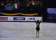 ISU figure skating World champ 2012 Stock Photo