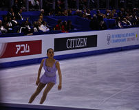 ISU figure skating World champ 2012 Mao Royalty Free Stock Photos