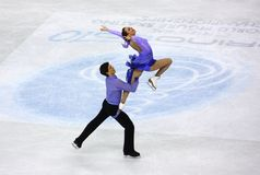 ISU World Figure Skating Championships 2010 Stock Images