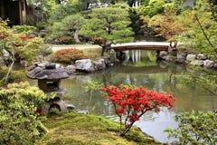 Isuien Garten, Nara Stockbilder