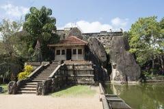 Isumunuriya Vihara tempel i Anuradhapura, Sri Lanka Royaltyfri Bild