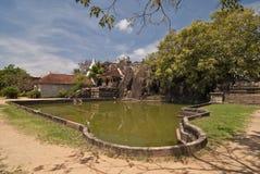 Isurumuniya寺庙在阿努拉德普勒,斯里兰卡 免版税图库摄影