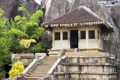 Isurumuniya Temple, Anuradhapura, Sri Lanka. Image of UNESCO's 3rd century World Heritage Site of Isurumuniya Temple, located at Anuradhapura, Sri Lanka Royalty Free Stock Images