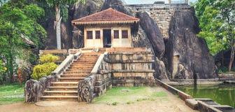 Isurumuniya Viharaya. Panorama Royalty Free Stock Image