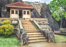 Isurumuniya Viharaya. Panorama Stock Images