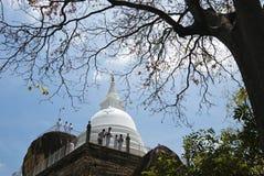 Isurumuniyatempel in Anuradhapura, Sri Lanka Stock Foto's