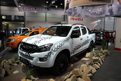 ISUZU D-MAX 4x4 pickup Fotografering för Bildbyråer