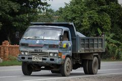Isuzu Dump Truck privée photographie stock